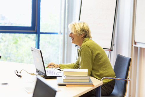 Teacher sees ENT specialist in London